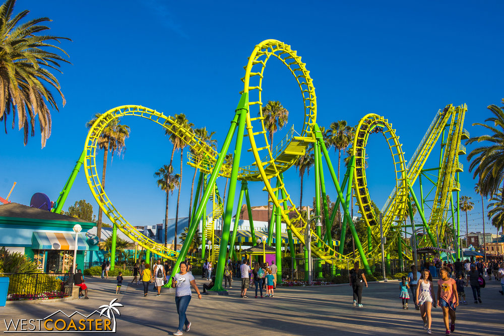 Through multiple paint schemes, this classic roller coaster has continued to thrill riders...