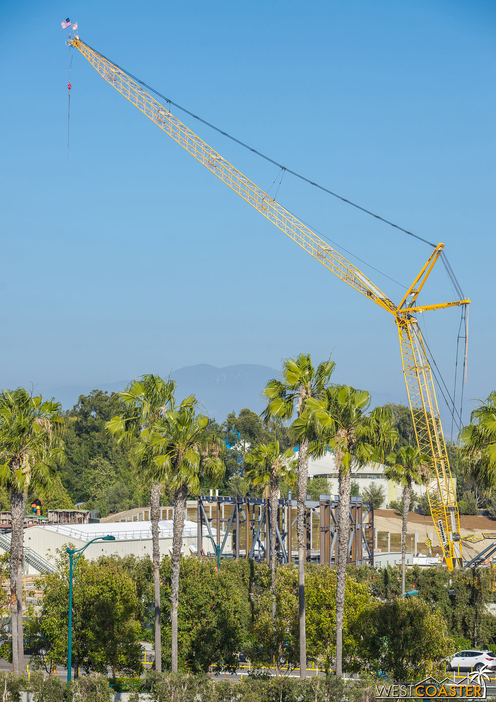 Remember that second crane? Well, that's the big news of the week.
