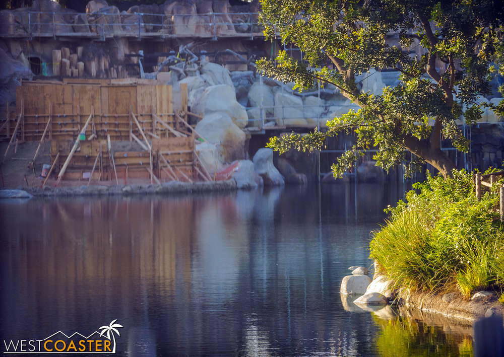 If they've put water back in the Rivers, it means they're definitely getting close to finishing this area up!