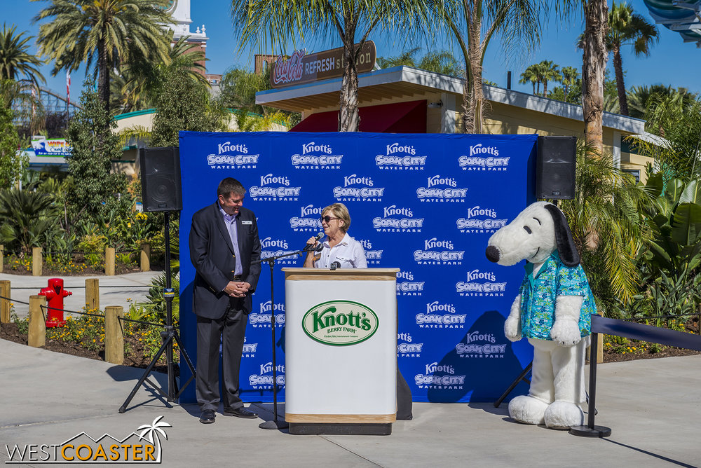 Knott's GM, Jon Storbeck and Buena Park Mayor, Elizabeth Swift both talk about Knott's impact and new attractions.