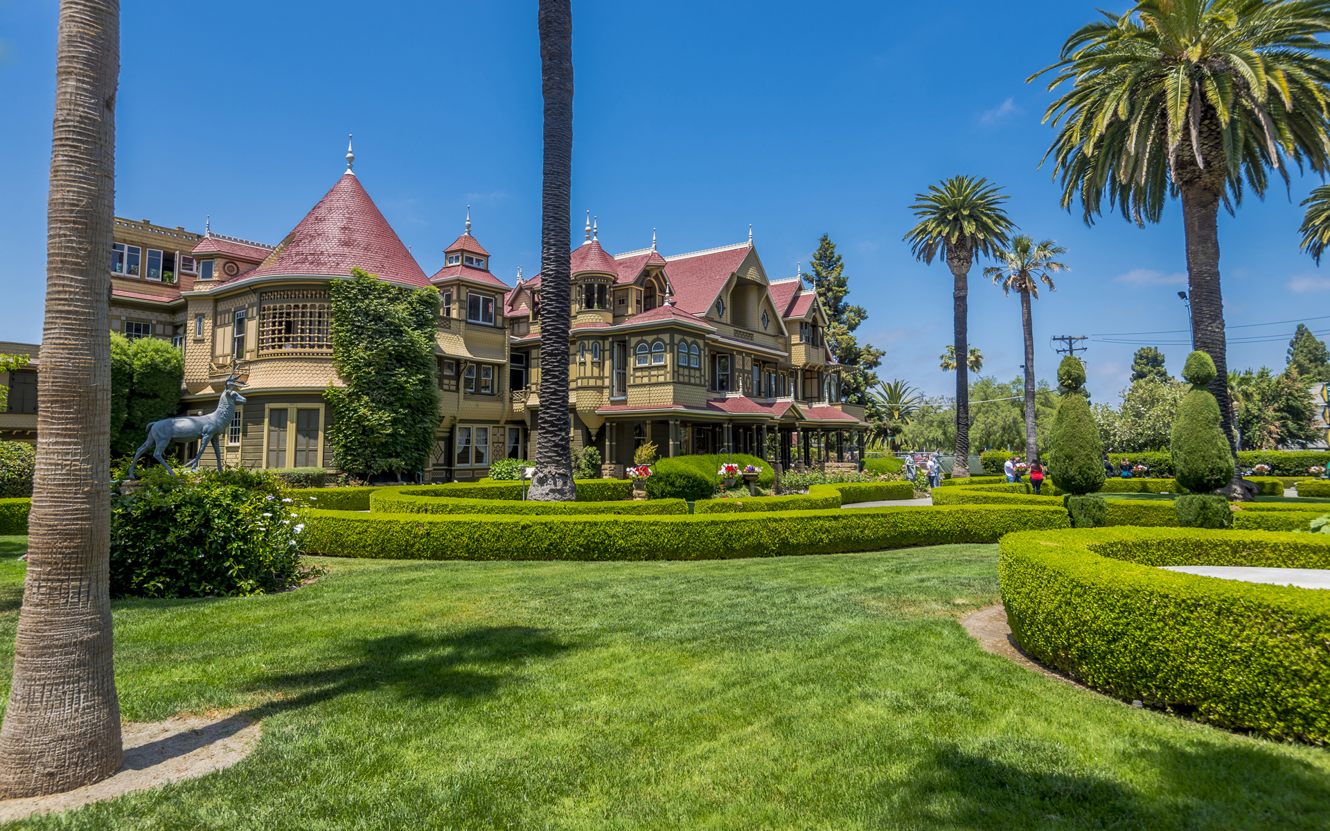 The Winchester Mystery House Westcoaster