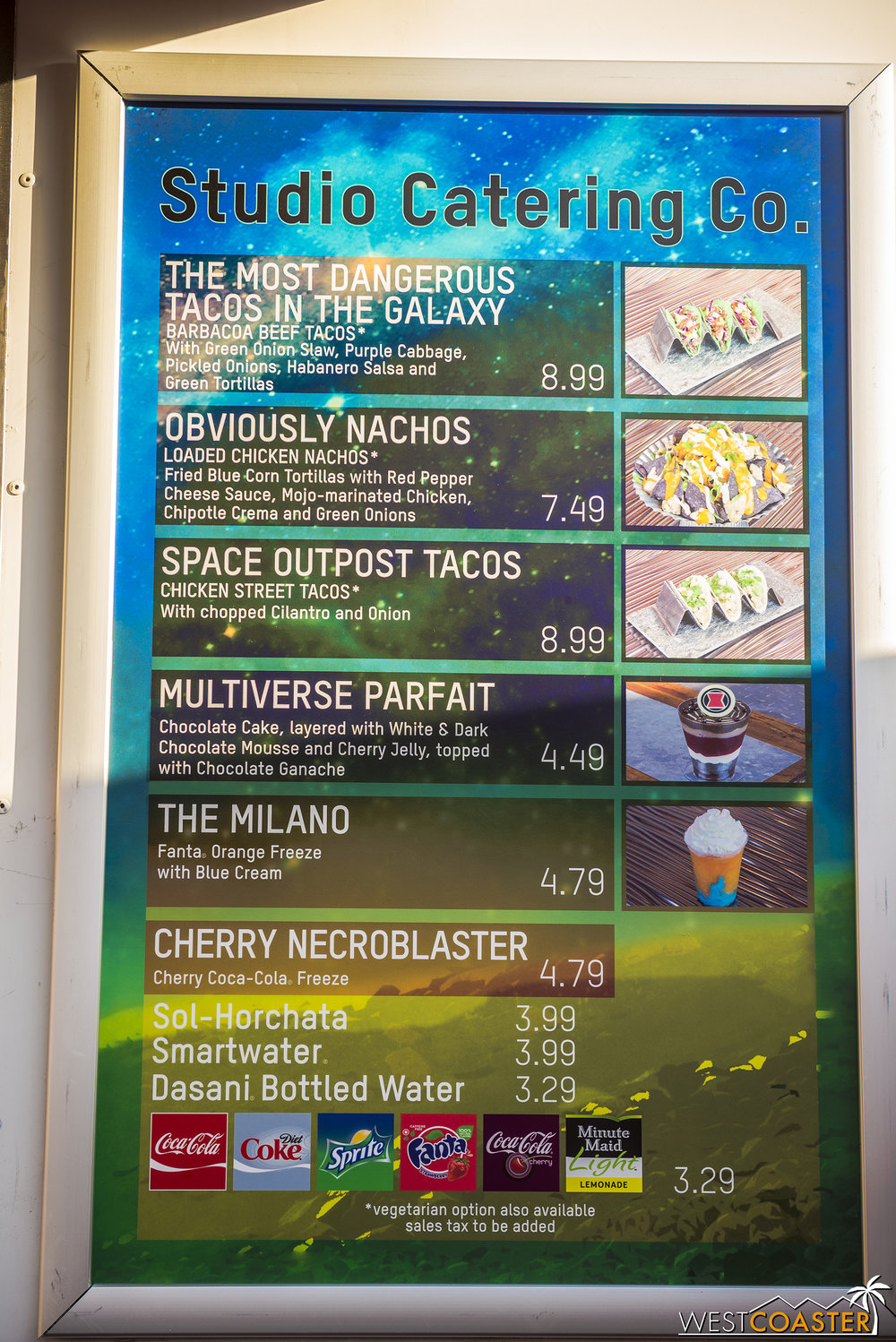 The food truck is serving a Guardians themed menu for the summer.