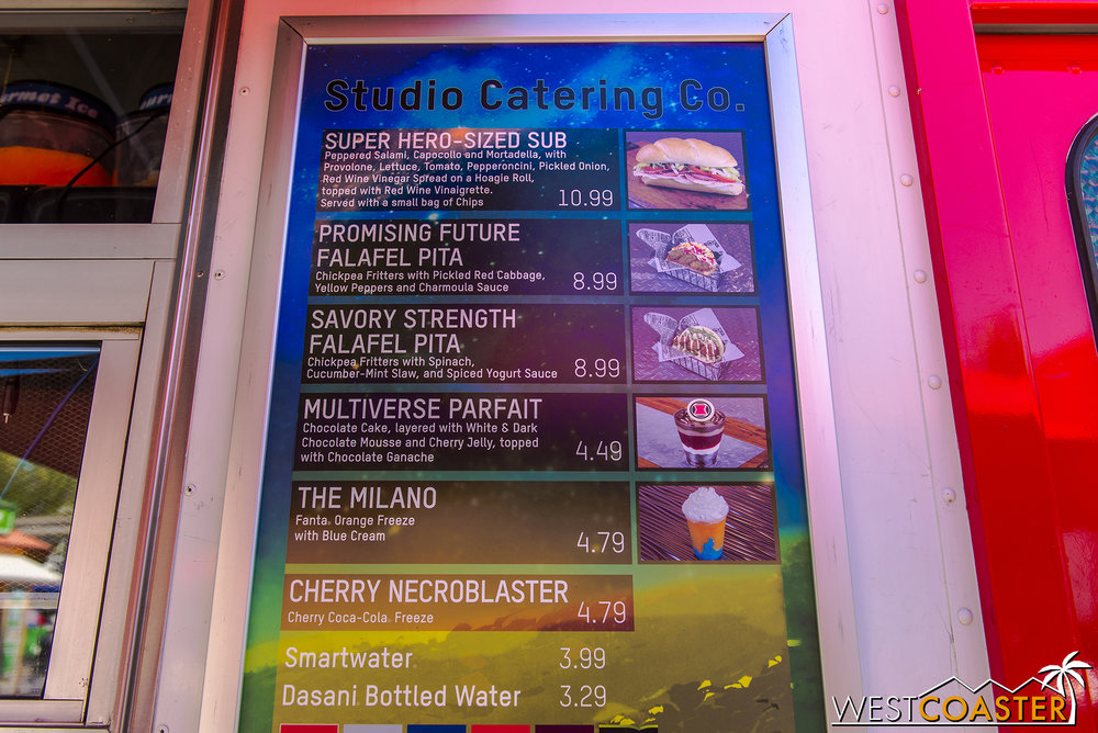 This is the food you can get from the Hollywood Land food truck across from the Monsters Inc. ride now.