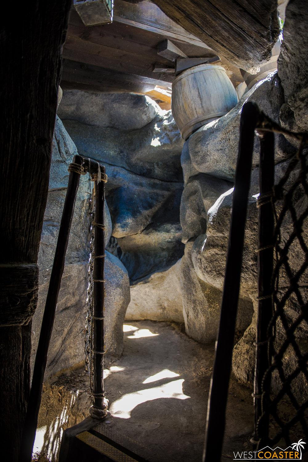 These caves have always been a child's playground, with many tight quarters that adults would have trouble with.
