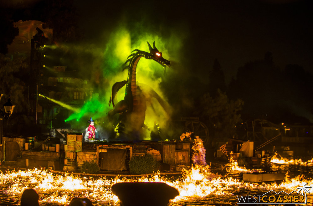 No matter how many times that dragon tries to burn water down, Mickey always has his triumph, and so, he sets about reclaiming his imagination.