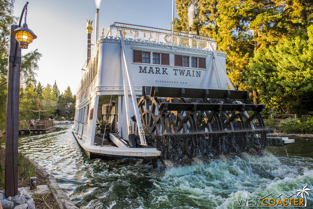 Starting Saturday, guest can once again take a steamboat ride around the now-shortened Rivers of America.