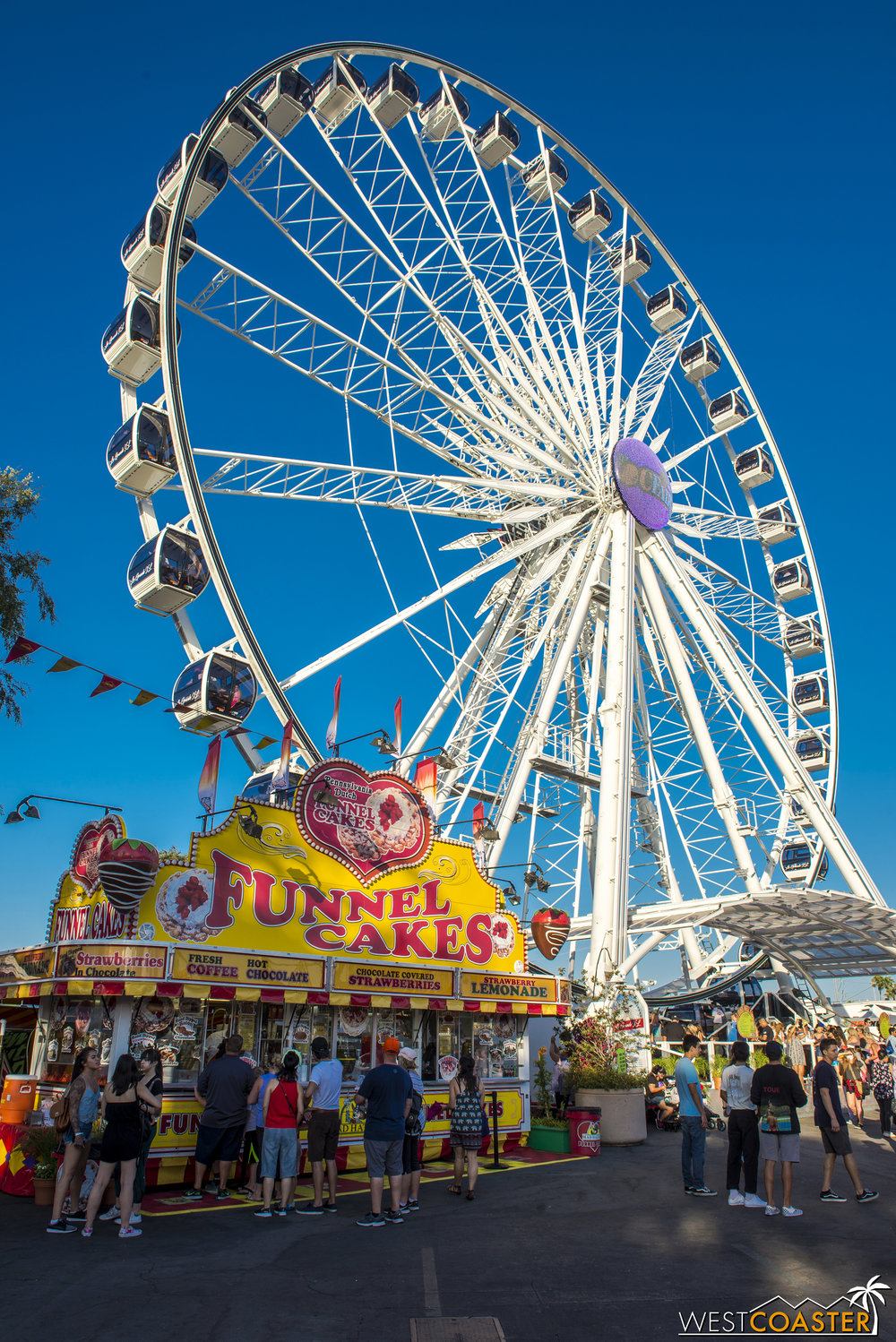 The giant wheel is an annual fixture at the OC Fair.