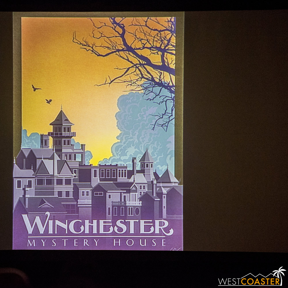 The Sam Carter print given to all attendees.  Very cool and absolutely beautiful!