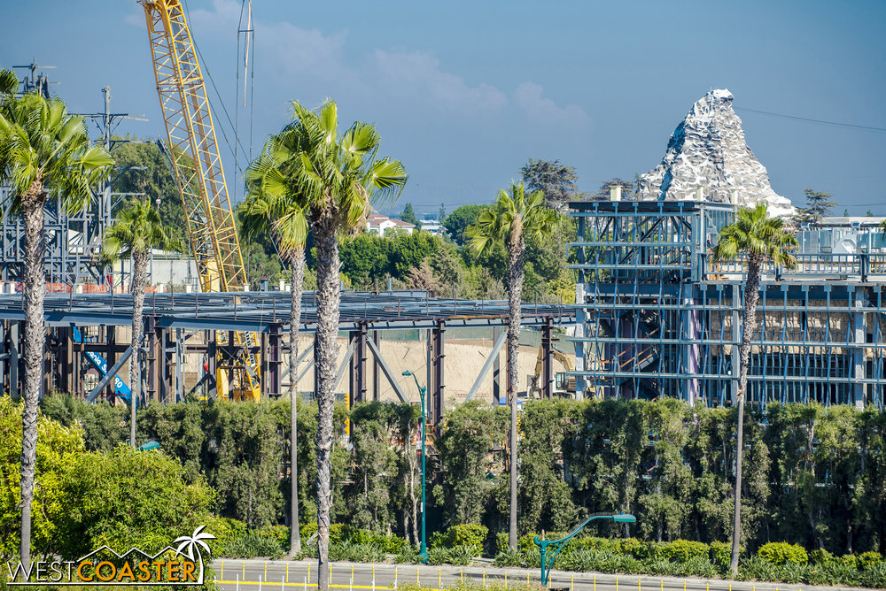 The Millennium Falcon show building is turning out to be quite more sprawling than expected.