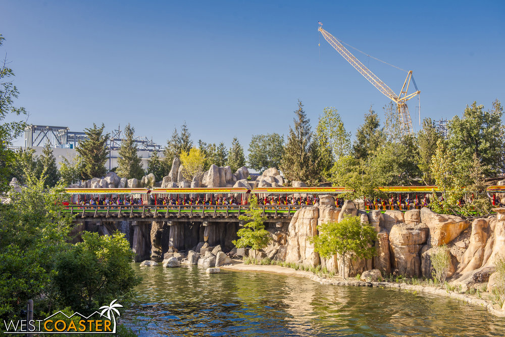 "Most of them dream of eventually being able to scale the great barriers and make it over to ""Star Wars"" Land beyond.  They see the wall panels going up on the First Order ride and dream of being the first to battle on behalf of the DizFit Resistance."