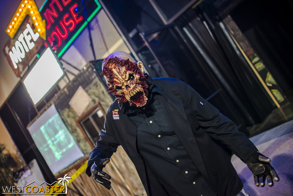 Carnival style spooks abound at Mabel's 6 Feet Under, a haunted attraction with scares and fun, reminiscent of the classic haunted houses back in the day.