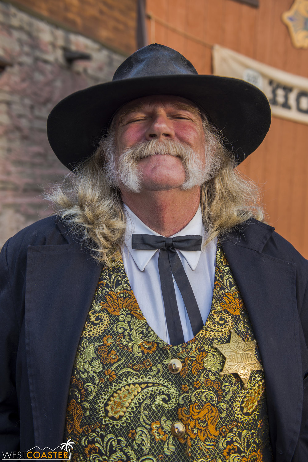 Of course, few are more beloved and iconic than the regular Calico Sheriff, Bryce Wheeler himself.