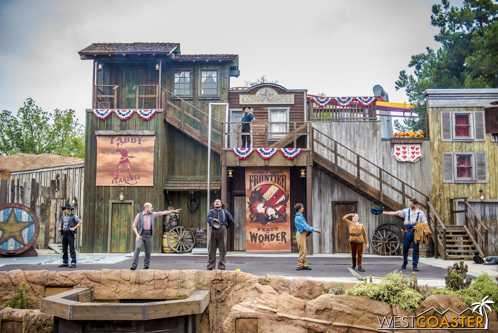 As usual, the Wild West Stunt Show was a fun and exciting summer offering.