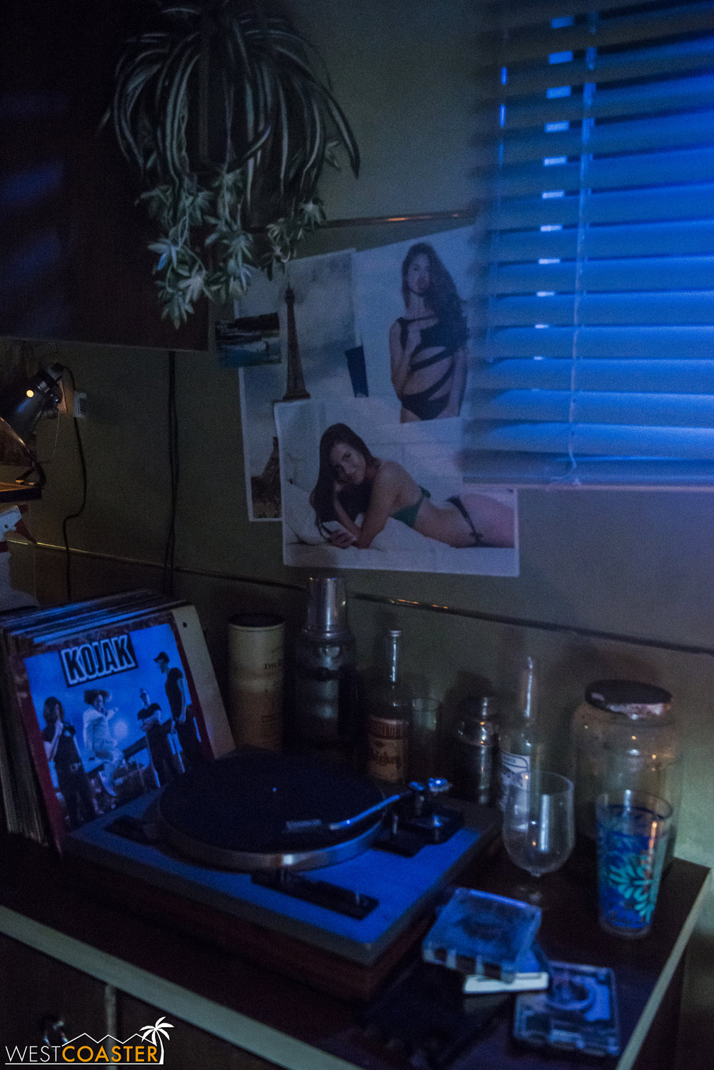 Ash room from his teenage years looks... like a room a typical teenage boy would set up.