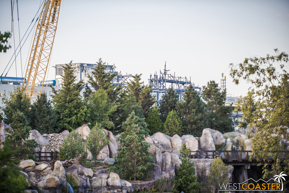 Regardless, you can start to imagine how Star Wars: Galaxy's Edge will fit in here when it's complete.  The aesthetic should be pretty natural, and it's certainly exciting to anticipate!