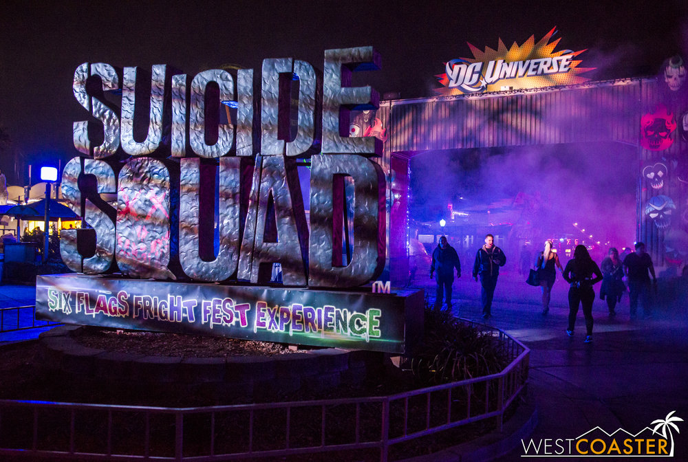 The Suicide Squad Experience is back at Fright Fest this year.