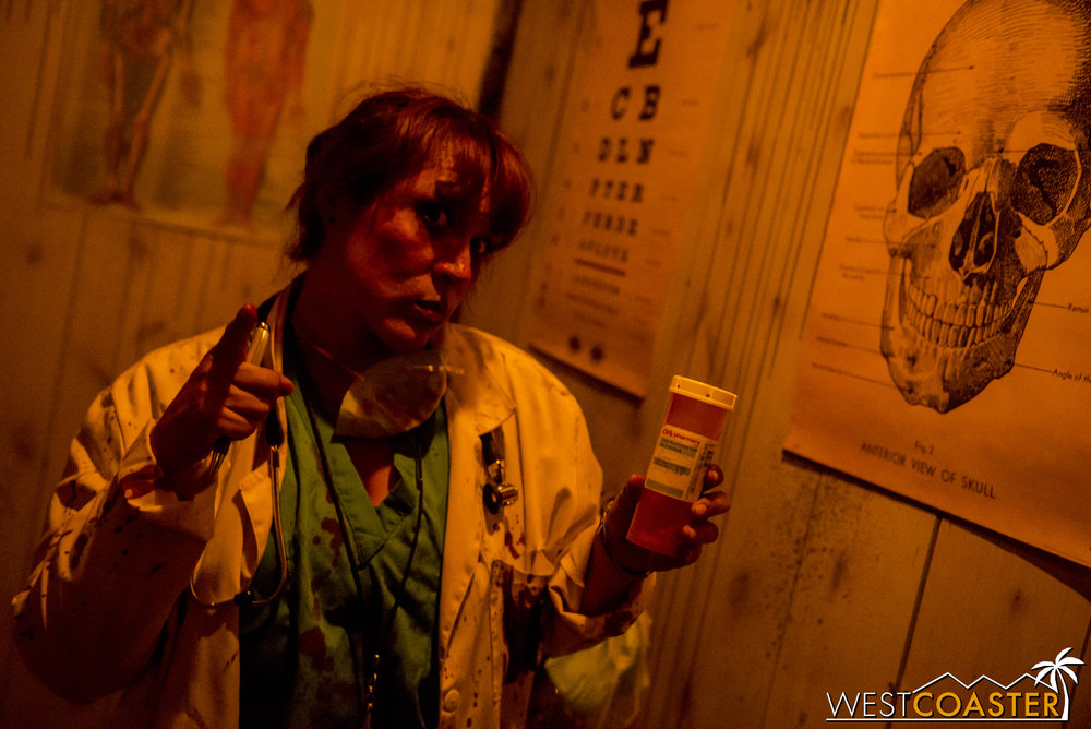 Have you taken your medicine at The Asylum?