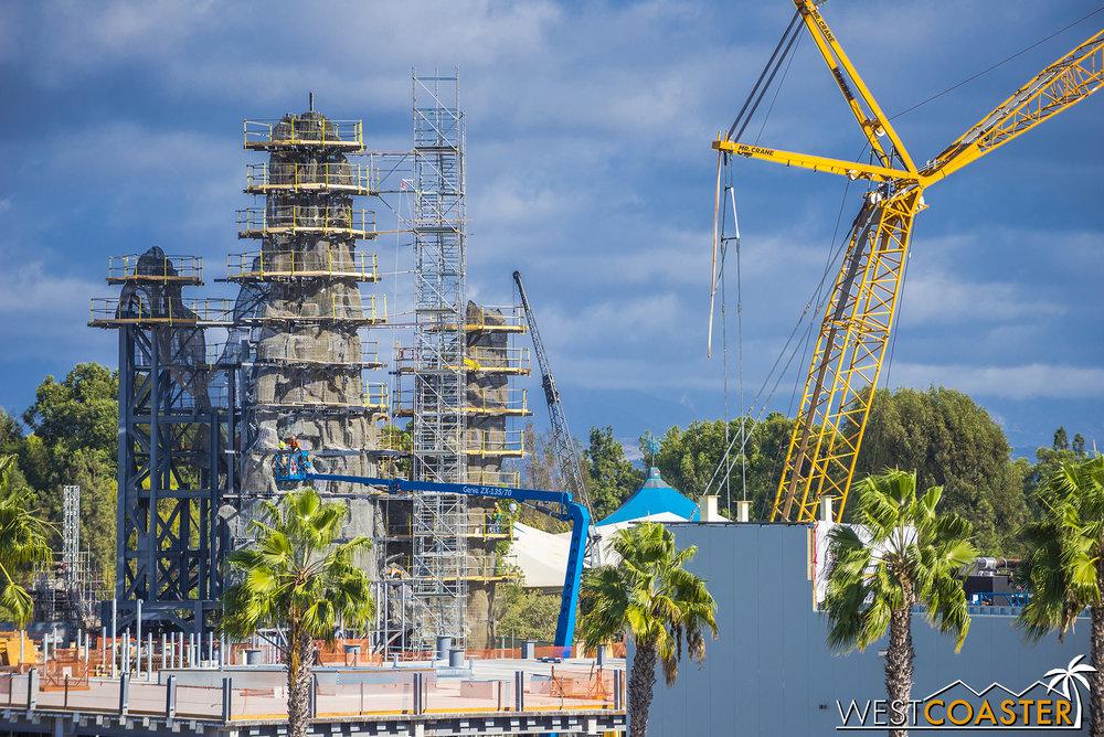 Disneyland will soon have more peaks.