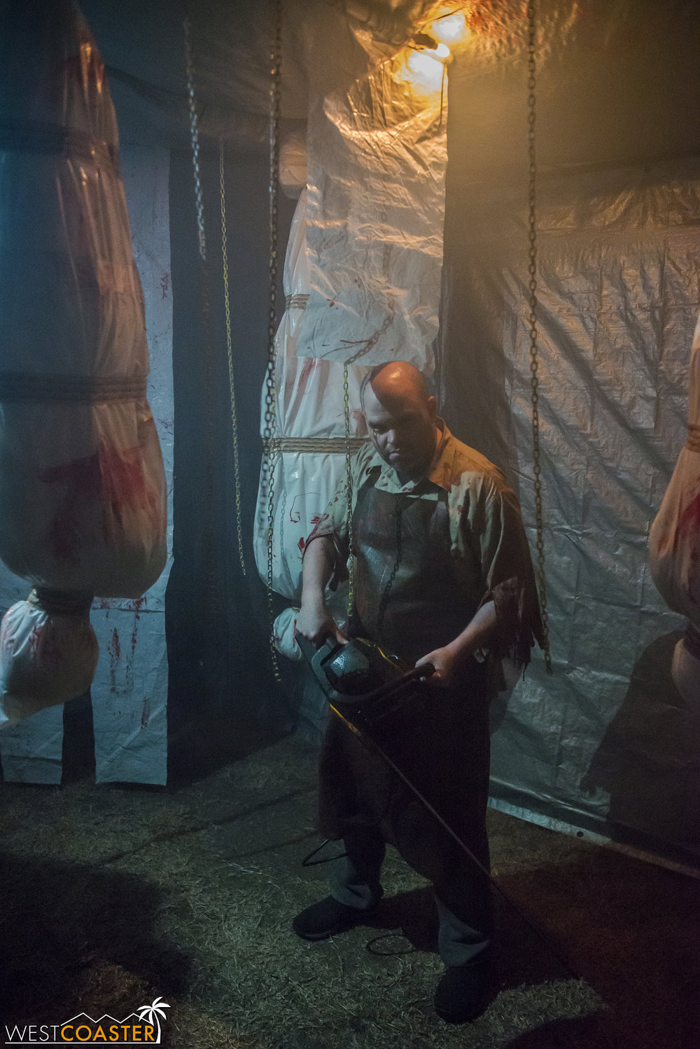 Impressively, the entire maze is built directly on the lawn, rather than a constructed platform, which certainly saves construction time.