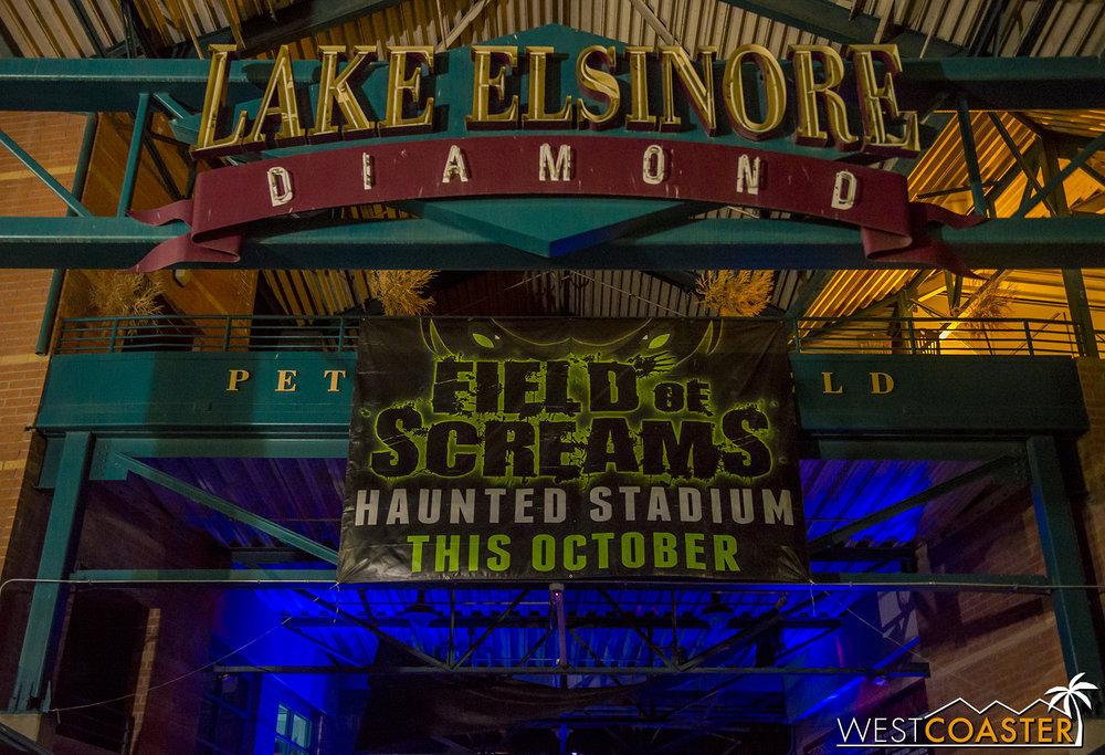 Welcome to the cleverly named Field of Screams!