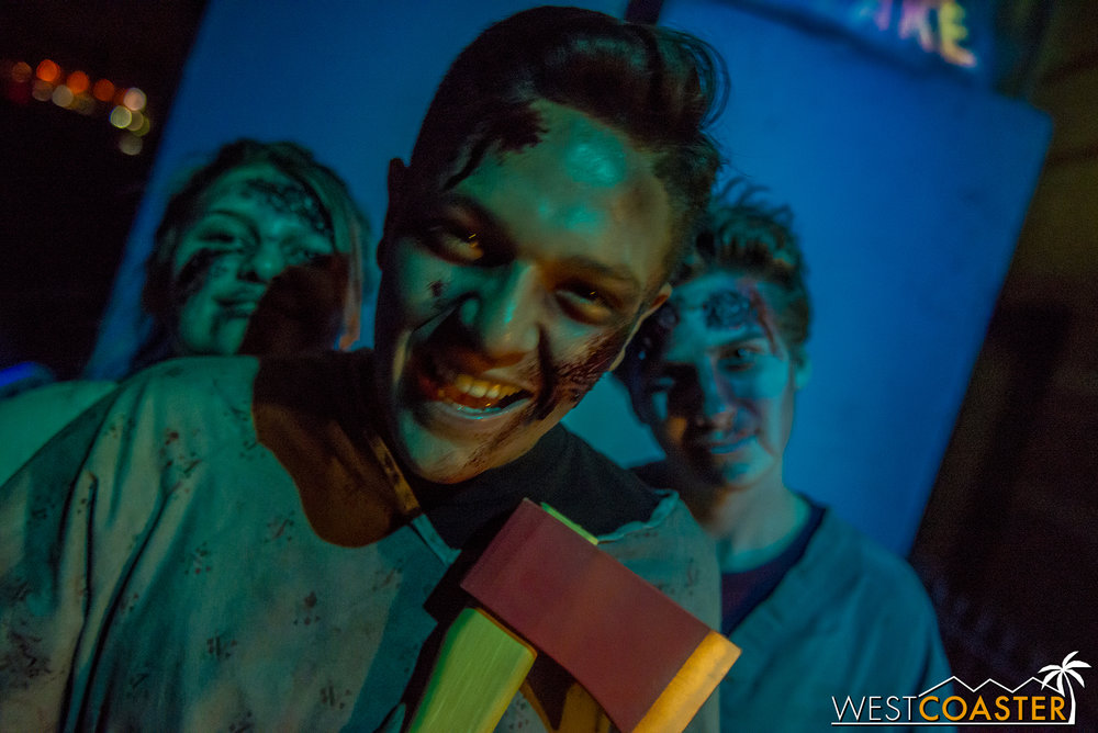 Field of Screams features a host of enthusiastic young talent.