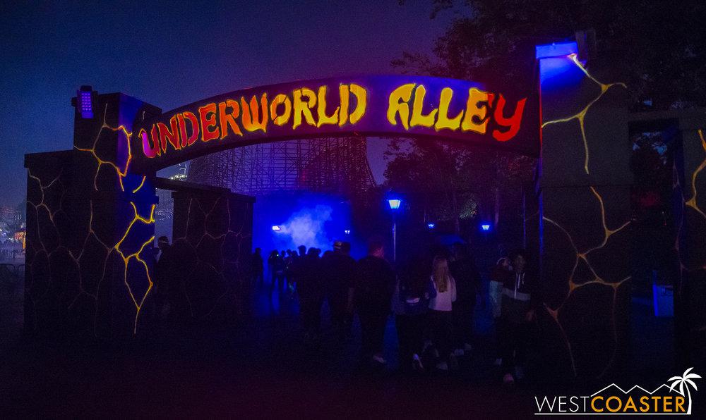 Welcome to Underworld Alley.