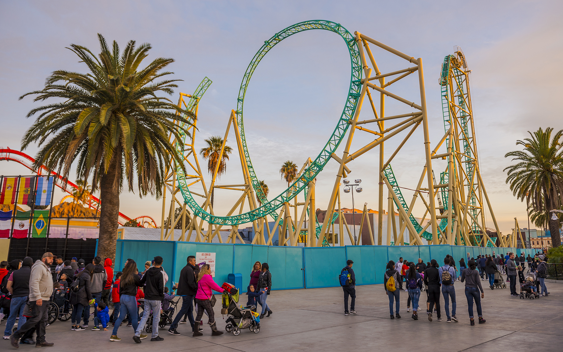 Knott\'s Berry Farm Update: HangTime Getting High — Westcoaster