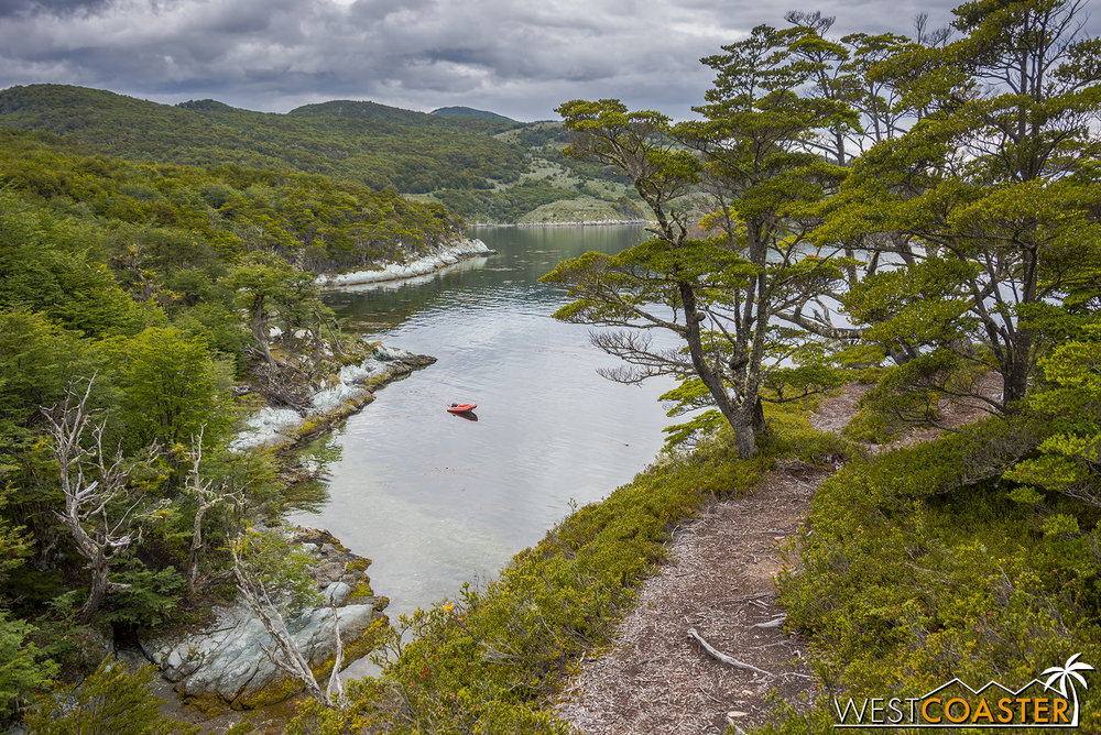 The Costera trail offers some amazing views in Tierra del Fuego National Park and is one of several trails visitors can explore.