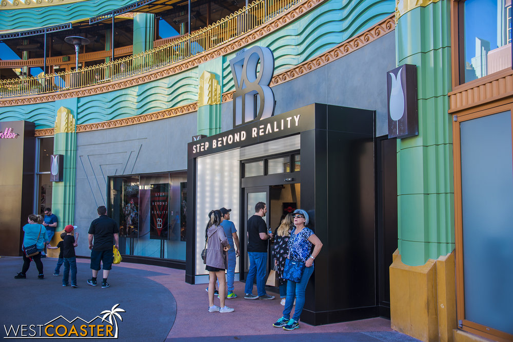 The new Star Wars VR experience is finally open at Downtown Disney!