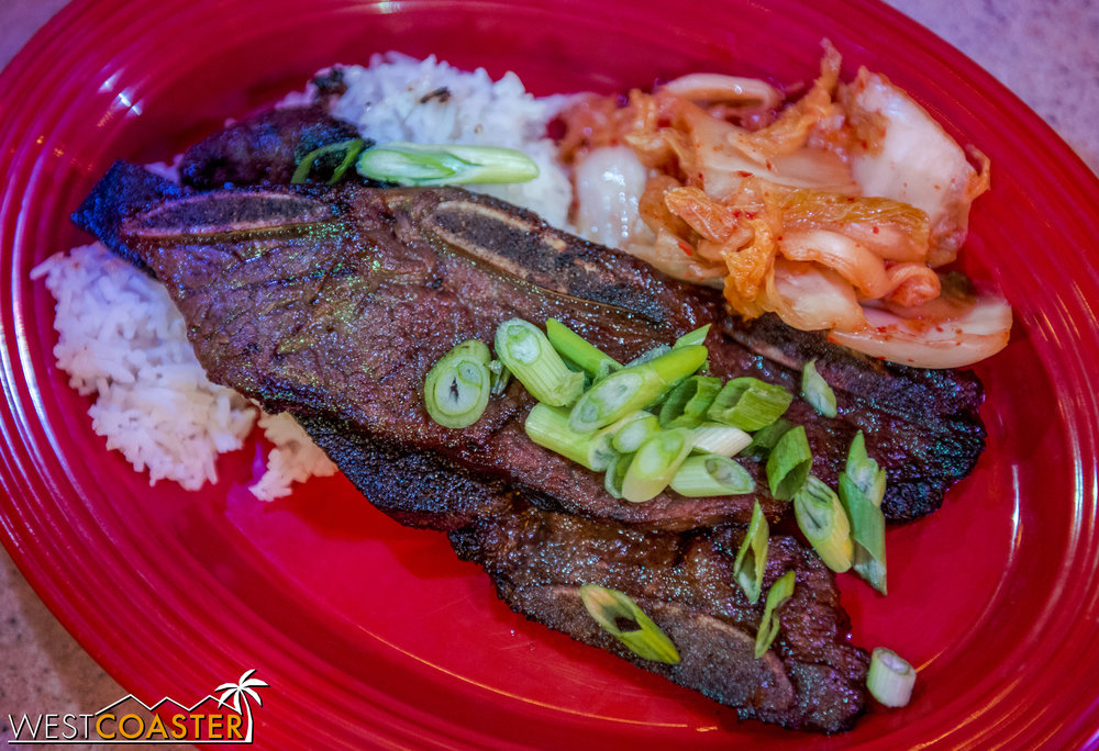 I still haven't had a chance to try the fish at the Garden Grill, but the Galbi remains quite excellent.