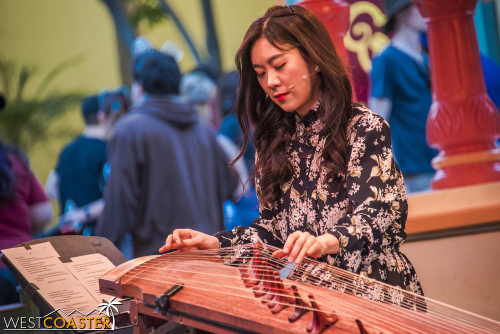 "Funny enough, I hadn't heard of her until a week ago, when a friend posted a video of her gayageum cover of AC/DC's ""Back in Black"" on Facebook."