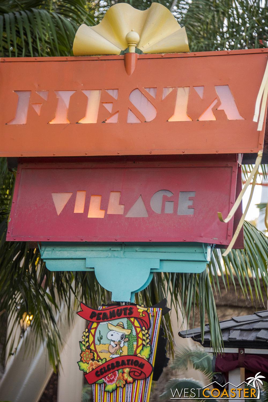 And Fiesta Village...