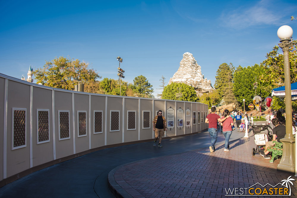 Don't worry, the walls do not enclose the Matterhorn too.
