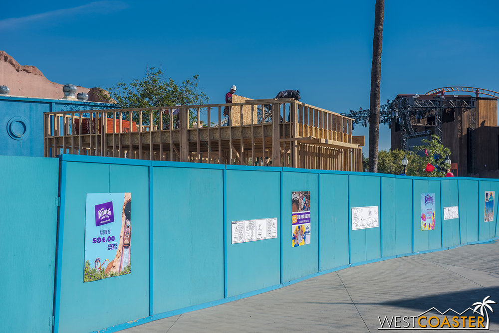 Here's a look back at what appears to be the future gift shop for HangTime.