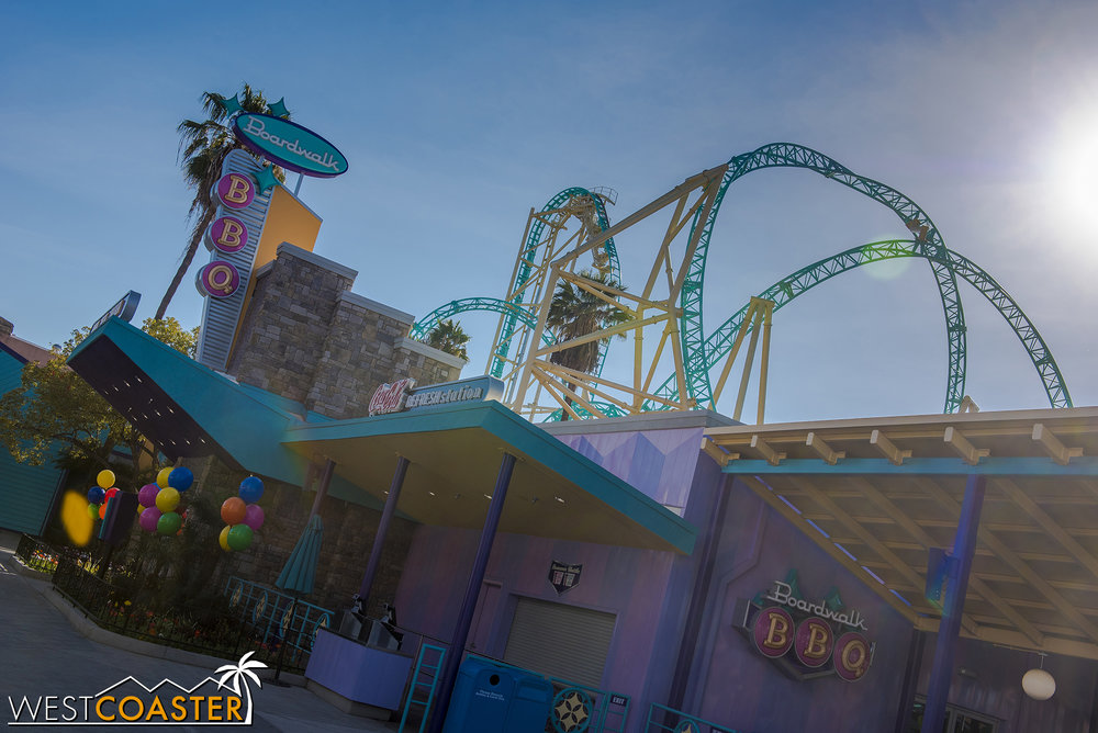 There will be plenty of great shots for coaster photogs to capture.