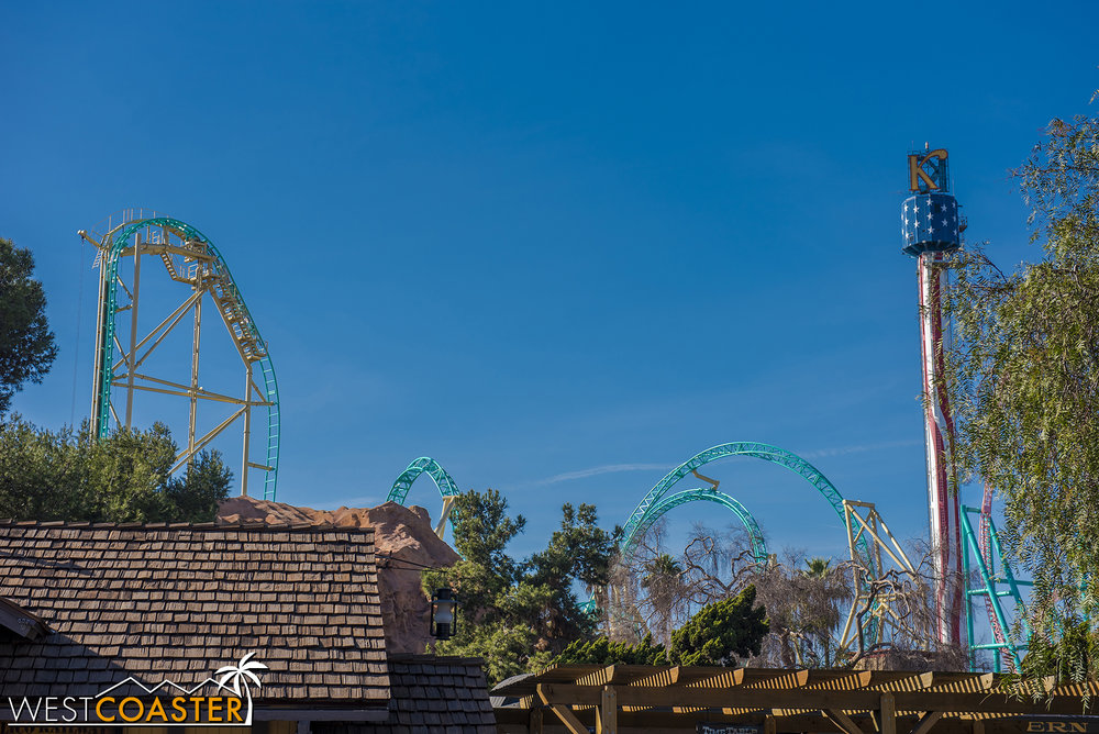 And you'll be able to see HangTime soar from all around the park!