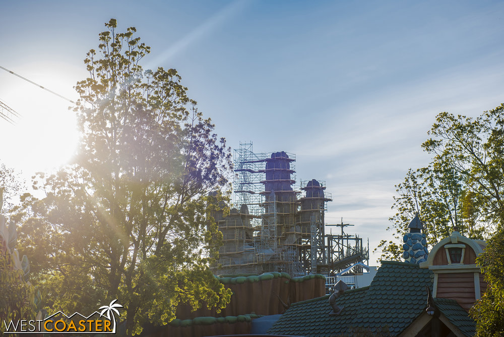 Lets teleport to Mickey's Toontown and check out progress in earnest.