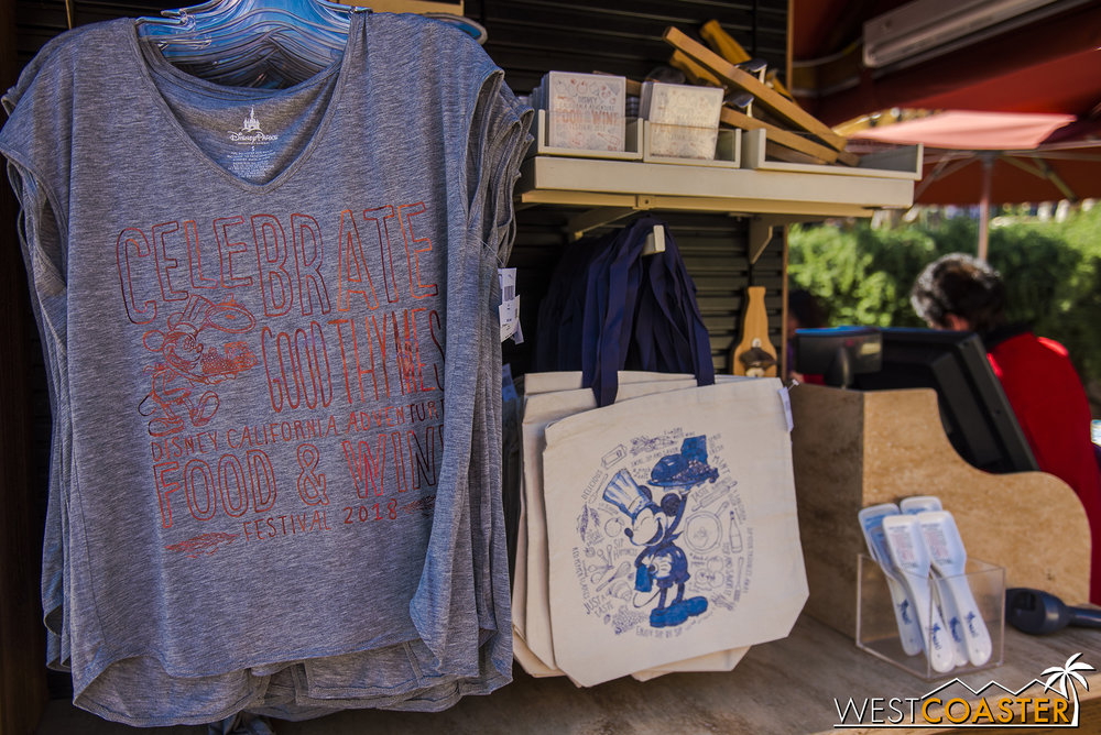 A lot of the same wares offered in Hollywood Land.