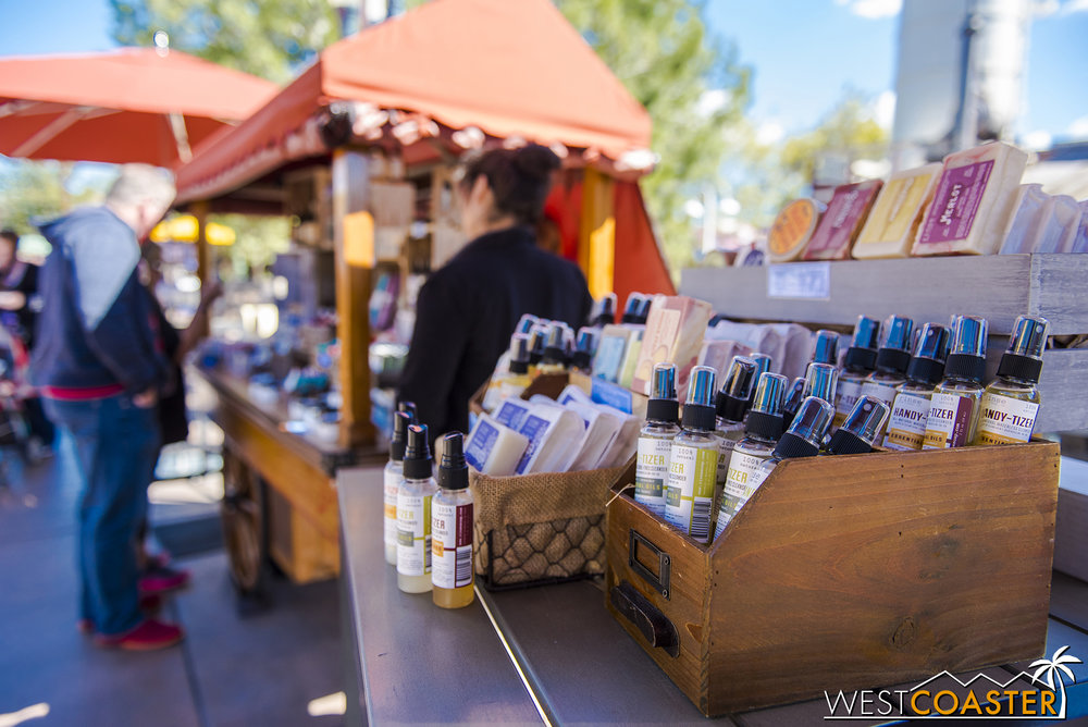 Like in previous years, there are also non-Disney vendors selling their own craft products.