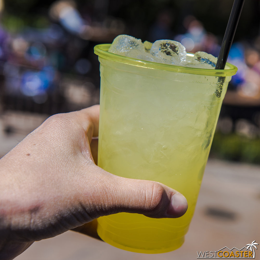 Meyer Lemon Ginger Mule @ Citrus Grove  This favorite from last year is back this year and oh so refreshing!  You can hardly taste the alcohol.  It's very, very good.