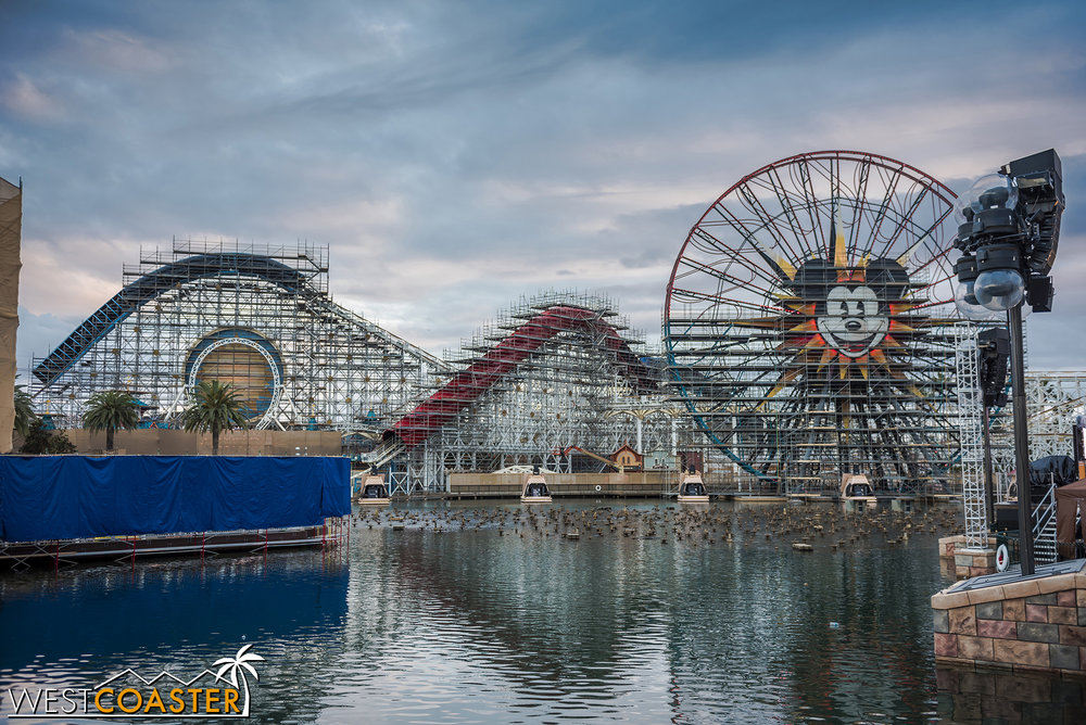 The Incredicoaster has seen its first noticeable change.