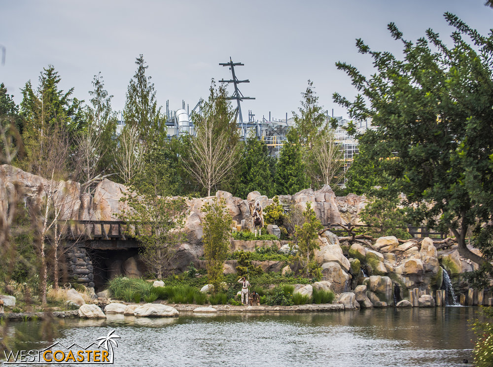 From the Rivers of America, Batuu is starting to become very prominent!