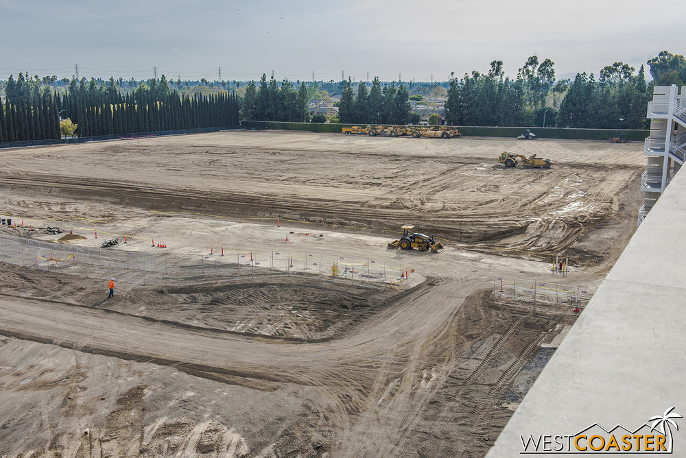 "Beyond that, what was the Pinocchio lot is definitely all soil now.  But we'll still remember it by calling this future parking structure the ""Pinocchio Parking Structure"" until Disney releases an official name for it."