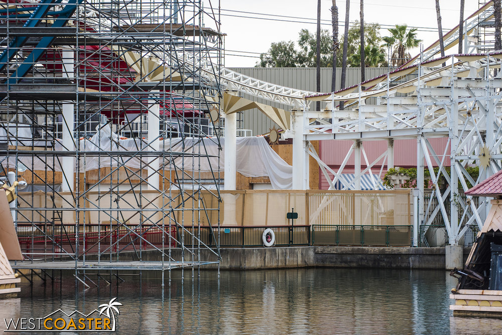 The boardwalk games have been stripped down.