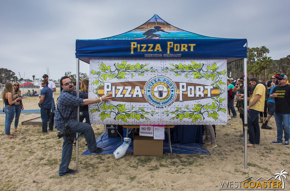 So Dan really, really, REALLY loves Pizza Port.