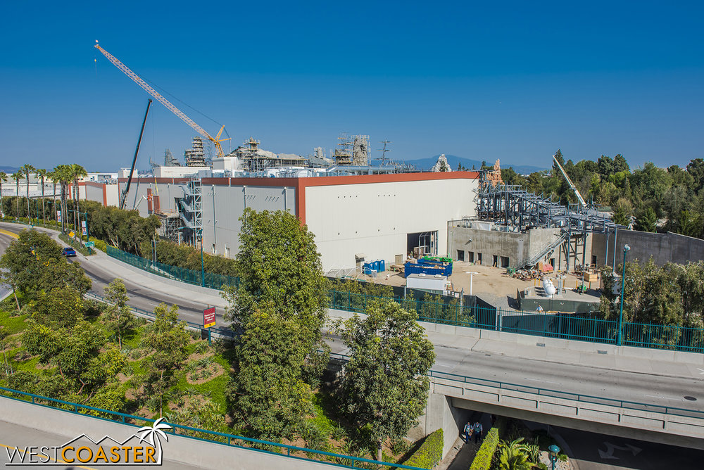 "Time for another overview panorama of ""Star Wars"" Land!"