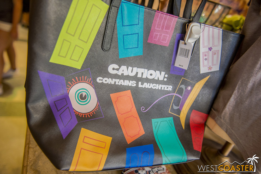 A pretty cute  Monsters Inc.  bag…