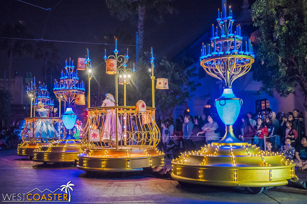 Cinderella and Rapunzel are right behind.