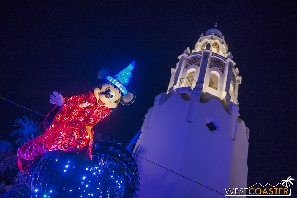 Yup, it's great to have the Paint the Night parade back!