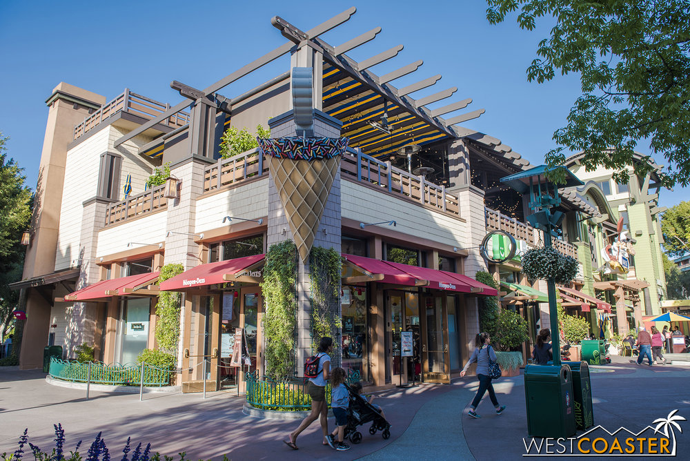 Disney also recently announced that   Salt & Straw   will be coming to Downtown Disney. It will take over the Häagen-Dazs location.